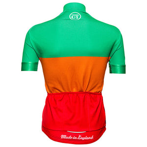 Hackney GT cycle jersey RGO back