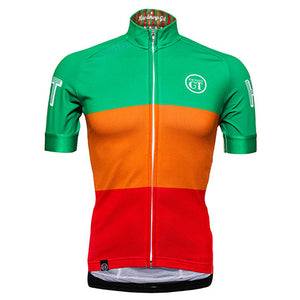 Hackney GT cycle jersey Tri RGO front