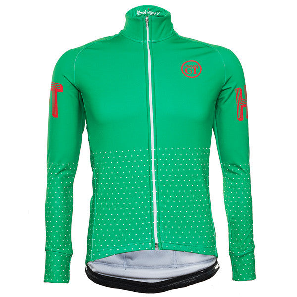 Hackney GT Trackster Green Windtex unisex  winter jacket front