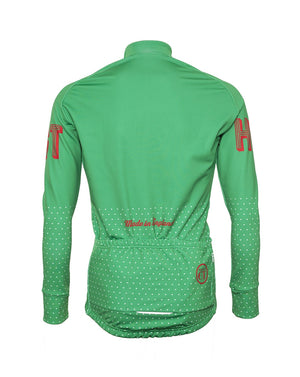 Hackney GT Trackster Green Windtex unisex  winter jacket back