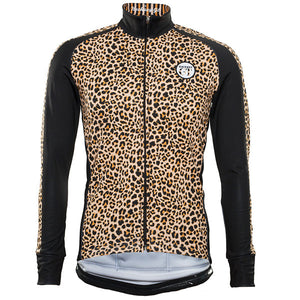 Hackney GT Leopard Unisex winter jacket front