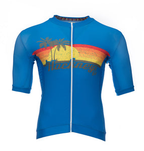 Hackney GT Palms short sleeve  lycra cycling jersey