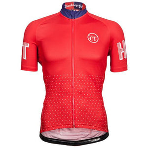 Hackney GT Trackster Red Cycle jersey
