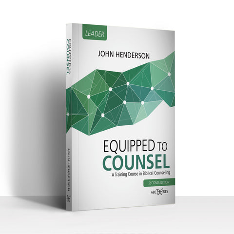 Equipped To Counsel Leader Book Edition 2