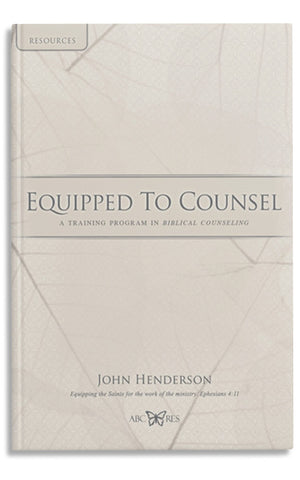 Equipped to Counsel-Resource book