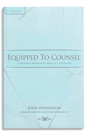 Equipped to Counsel-Student book