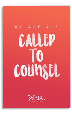 2016 Called to Counsel (DVD & MP3)