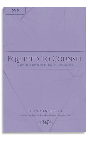 EQUIPPED TO COUNSEL (DVD)