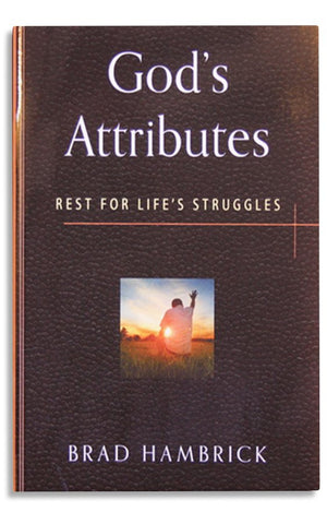 GOD'S ATTRIBUTES: REST FOR LIFE'S STRUGGLES