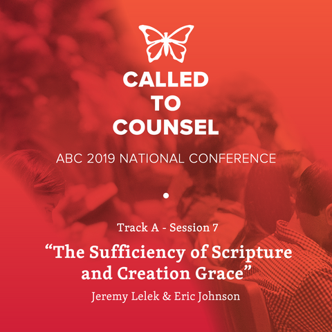 2019 ABC National Conference MP3: An Intro To Biblical Counseling Session 7