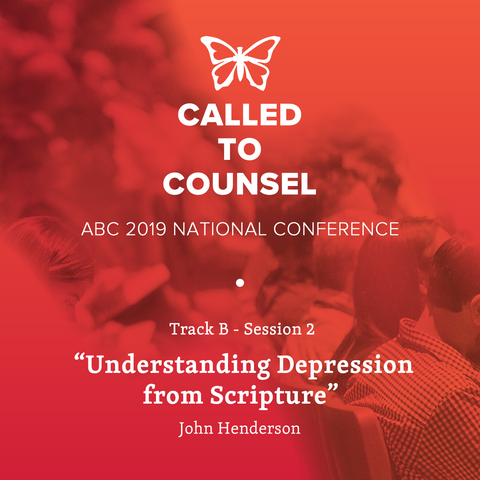 2019 ABC National Conference MP3: Depression Session 2