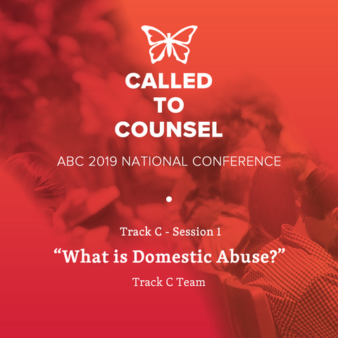 2019 ABC National Conference MP3: Domestic Abuse C Session 1