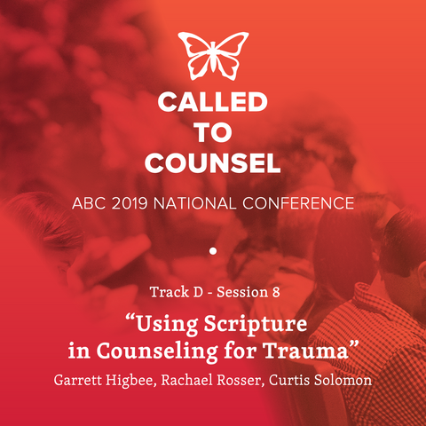 2019 ABC National Conference MP3: Post Traumatic Stress Disorder Session 8