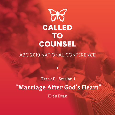 2019 ABC National Conference MP3: Track F Marriage Session 1