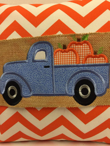 134 Pumpkin Truckload Pillow Wraps