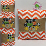 138 Screech the Scarecrow Pillow Wraps