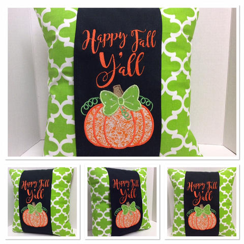 131 Fall Pumpkin Pillow Wraps