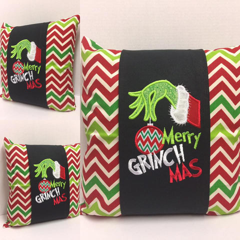 143 Merry Grinchmas Pillow Wraps