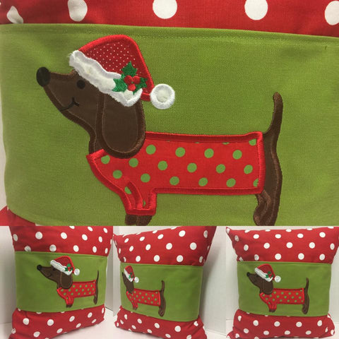 130 Dachshund Pillow Wraps