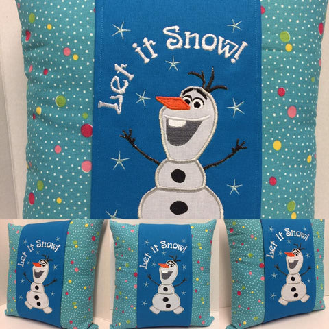 146 Olaf Inspired Pillow Wraps