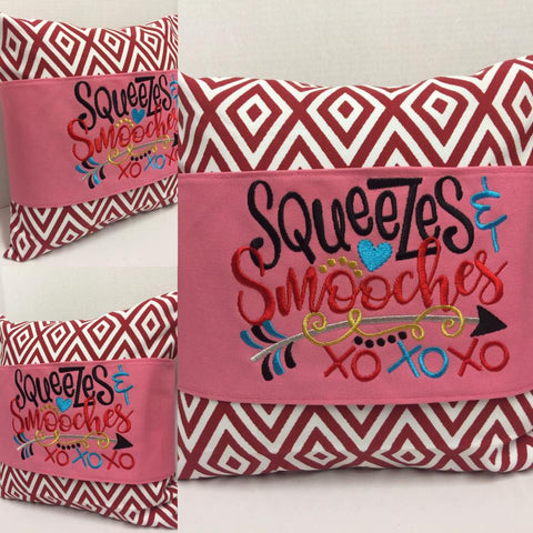 119 Valentine's Squeezes & Smooches Pillow Wraps