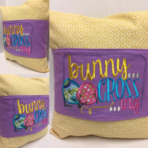 112 Bunny Crossing Pillow Wraps