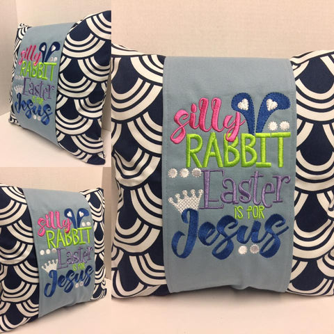 111 Easter is for Jesus Pillow Wraps