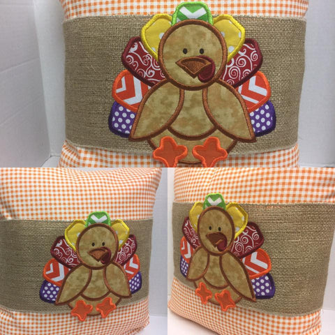 114 Turk the Turkey Pillow Wraps