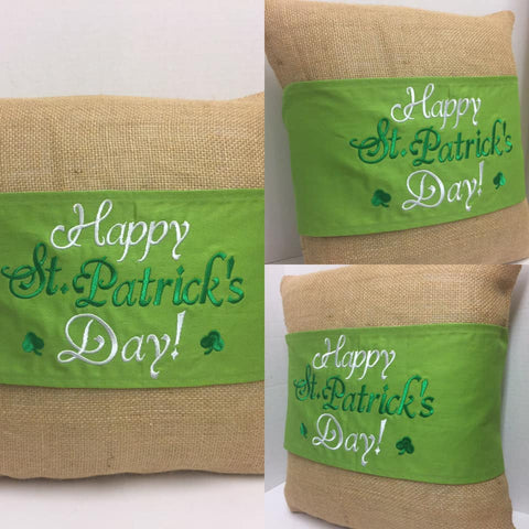 103 St. Patrick's Pillow Wraps