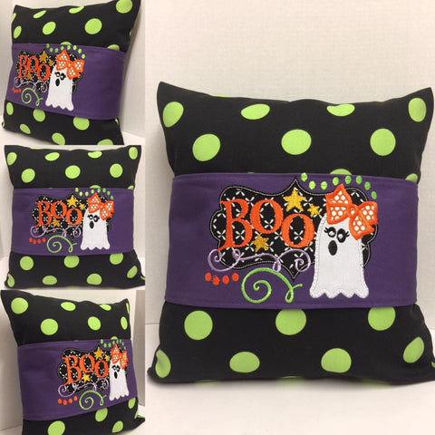 115 Fall Boo Pillow Wraps