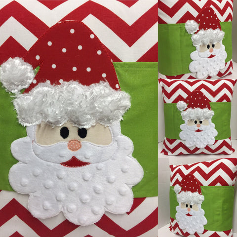 149 Sneaky Santa Pillow Wraps