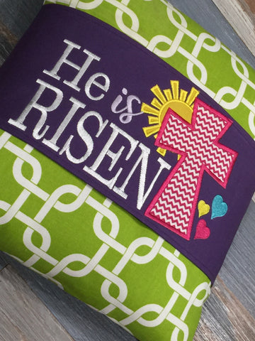 157 He is Risen Pillow Wraps