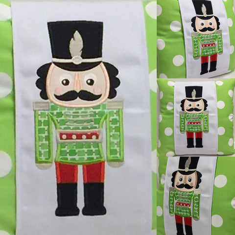 151 Nelson the Nutcracker  Pillow Wraps