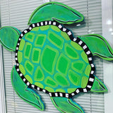 Turtle Wooden Door Hanger