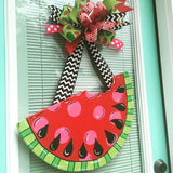 Watermelon Wooden Door Hanger