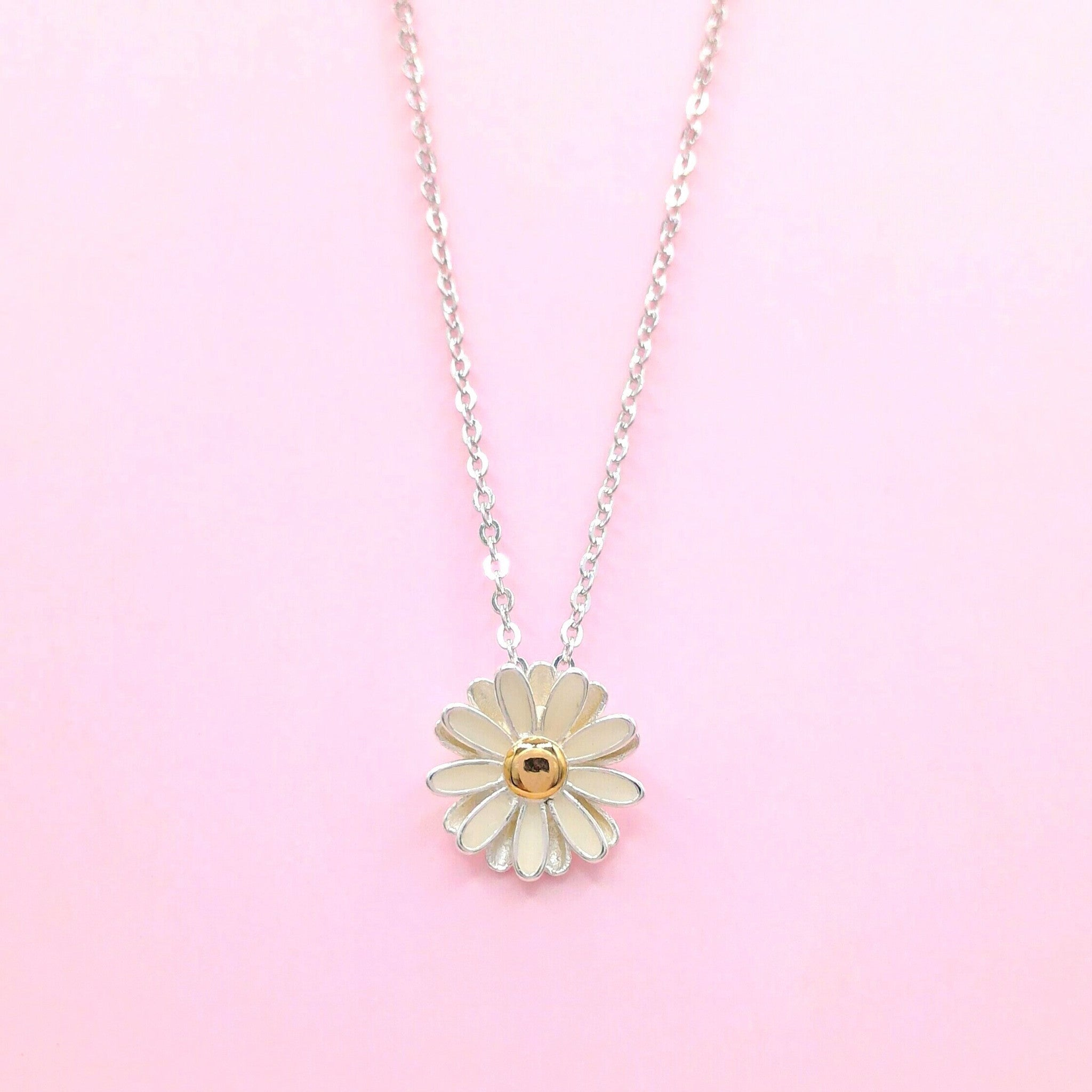 joma product necklace daisy jewellery