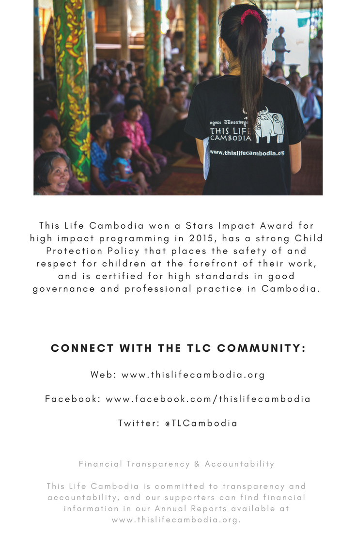 This Life Cambodia believes that local communities are the experts and the organisation is dedicated to listening to, engaging with, and advocating alongside families and communities in Cambodia as they define and act on their own solutions.