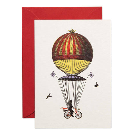 Ride Above It Greeting Card