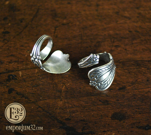 Vintage-Style Spoon Ring