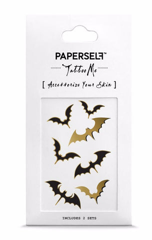 Bat Temporary Tattoos
