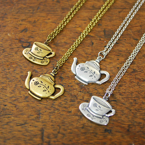 Tea Time Charm Necklace