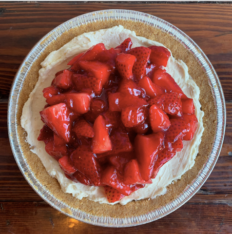 Strawberry Cheesecake Pie of the Month
