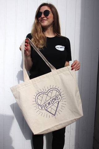 "The Pie Hole ""Pie is Love"" Tote Bag"