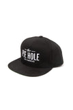 """The Pie Hole"" Hats (grey/black)"