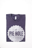 """The Pie Hole"" T-shirt (purple)"