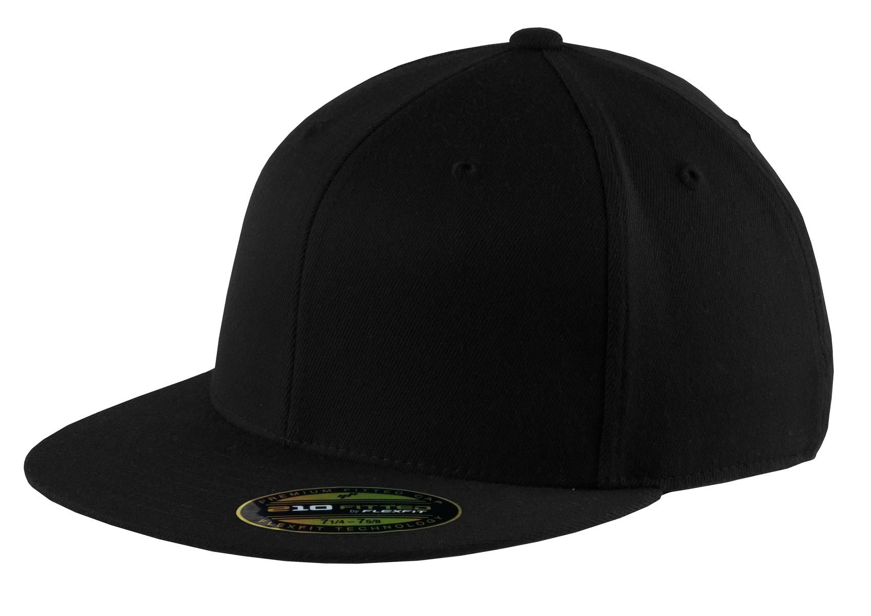 Port Authority® Flexfit® Flat Bill Cap. C808 – Embroidery Creations 01008f0545be