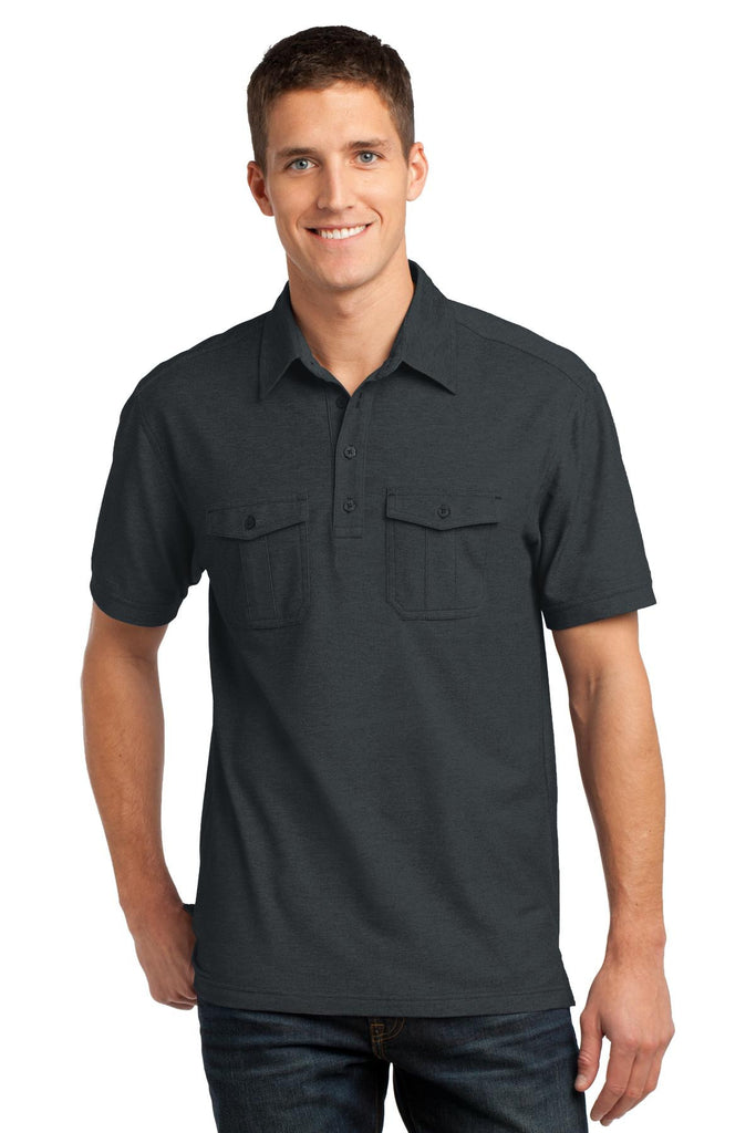 Port Authority® Oxford Pique Double Pocket Polo. K557