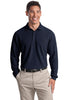 Port Authority® Long Sleeve EZCotton Pique Polo. K800LS""