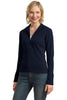 Port Authority® Ladies Flatback Rib Full-Zip Jacket.  L221