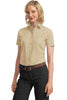 Port Authority® Ladies Short Sleeve Value Poplin Shirt. L633